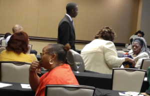 Josaiah McLean, former National Youth President at Conference in Las Vegas